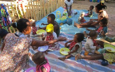 Vidéo :  Les débuts de la crèche de Besasavy