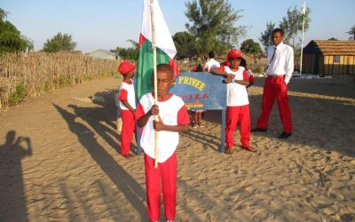 La participation des élèves à la fête de l'Indépendance