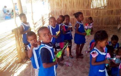 Photos : La mise en marche de l'école de Saint-Augustin en 2018, avec l'association MPITAIZA