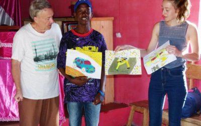 Photos : Intervenants extérieurs dans les centres d'accueil de la région de Tuléar, jusqu'en 2019